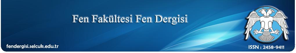 Selçuk Üniversitesi Fen Dergisi Fen Fakültesi
